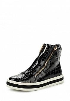 Кеды, Keddo, цвет: черный. Артикул: KE037AWKDY94. Женская обувь / Кроссовки и кеды