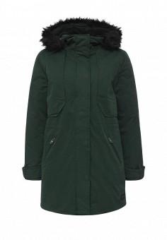 Парка, Lee, цвет: зеленый. Артикул: LE807EWKQX52. Женская одежда / Верхняя одежда / Парки
