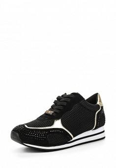Кроссовки, Liu Jo, цвет: черный. Артикул: LI687AWOQE31. Премиум / Обувь / Кроссовки и кеды / Кроссовки