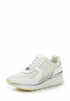 Кроссовки, Liu Jo, цвет: белый. Артикул: LI687AWOQE40. Премиум / Обувь