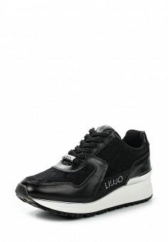 Кроссовки, Liu Jo, цвет: черный. Артикул: LI687AWOQE41. Премиум / Обувь