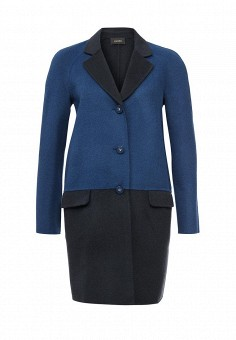 Пальто, Liu Jo, цвет: синий. Артикул: LI687EWOTC48. Премиум / Одежда / Верхняя одежда / Пальто
