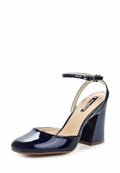 Босоножки, LOST INK, цвет: синий. Артикул: LO019AWPRV37. Женская обувь / Босоножки