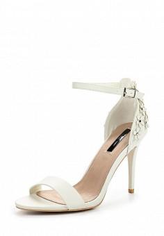 Босоножки, LOST INK, цвет: белый. Артикул: LO019AWPTE37. Женская обувь / Босоножки