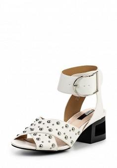Босоножки, LOST INK, цвет: белый. Артикул: LO019AWQLF22. Женская обувь / Босоножки