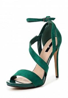 Босоножки, LOST INK, цвет: зеленый. Артикул: LO019AWRCX32. Женская обувь / Босоножки