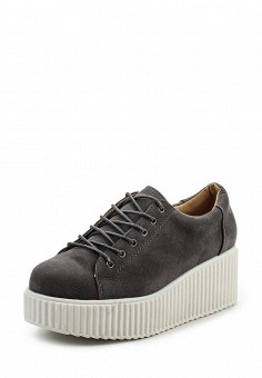 Кеды, LOST INK, цвет: серый. Артикул: LO019AWRCX47. Женская обувь / Кроссовки и кеды