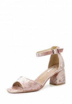 Босоножки, LOST INK, цвет: розовый. Артикул: LO019AWROK32. Женская обувь / Босоножки