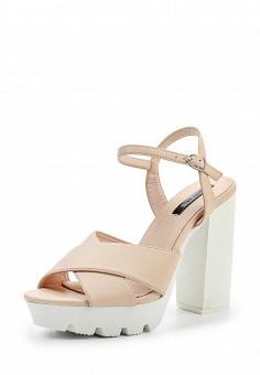 Босоножки, LOST INK, цвет: розовый. Артикул: LO019AWTND53. Женская обувь / Босоножки