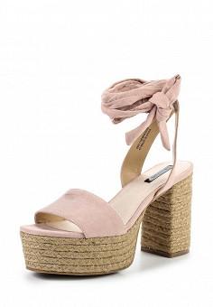 Босоножки, LOST INK, цвет: розовый. Артикул: LO019AWTZQ27. Женская обувь / Босоножки