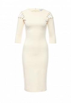 Платье, LOST INK, цвет: бежевый. Артикул: LO019EWJOW01. Женская одежда