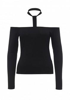 Блуза, LOST INK, цвет: черный. Артикул: LO019EWNRB51. Женская одежда