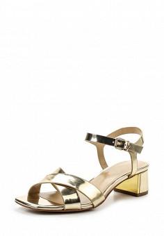 Босоножки, Lola Cruz, цвет: золотой. Артикул: LO688AWRTW37. Премиум / Обувь / Босоножки
