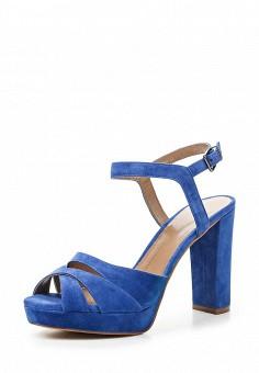 Босоножки, Lola Cruz, цвет: синий. Артикул: LO688AWRTW40. Премиум / Обувь / Босоножки