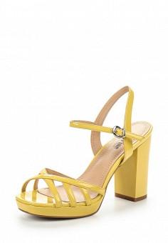 Босоножки, Makfine, цвет: желтый. Артикул: MA043AWSJC31. Женская обувь / Босоножки