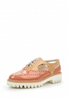 Ботинки, Makfine, цвет: розовый. Артикул: MA043AWSJC55. Женская обувь / Ботинки