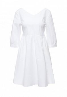 Платье, Max&Co, цвет: белый. Артикул: MA111EWOLU50. Премиум / Одежда / Платья и сарафаны