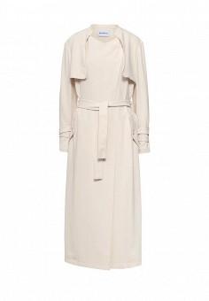 Пальто, Max&Co, цвет: бежевый. Артикул: MA111EWOML24. Премиум / Одежда / Верхняя одежда / Пальто