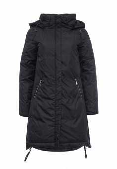Куртка утепленная, Medicine, цвет: черный. Артикул: ME024EWKAL71. Женская одежда / Верхняя одежда / Пуховики и зимние куртки
