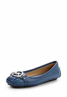 Балетки, Michael Michael Kors, цвет: синий. Артикул: MI048AWNZQ30. Премиум / Обувь / Балетки