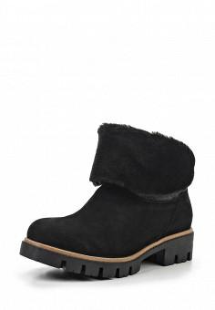 Полусапоги, Modelle, цвет: черный. Артикул: MO051AWKAZ73. Женская обувь / Сапоги