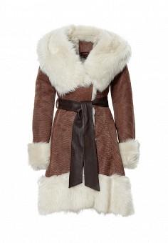 Дубленка Grafinia, цвет: коричневый. Артикул: MP002XM24N3X. Женская одежда