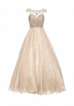 Платье, To be Bride, цвет: бежевый. Артикул: MP002XW0DPAR. Женская одежда / Платья и сарафаны / Вечерние платья