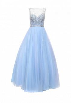Платье, To be Bride, цвет: голубой. Артикул: MP002XW0DPAS. Женская одежда / Платья и сарафаны / Вечерние платья