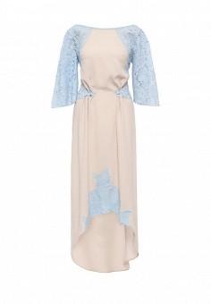 Платье, Diana Pavlovskaya, цвет: бежевый. Артикул: MP002XW0DVA7. Женская одежда / Платья и сарафаны / Вечерние платья