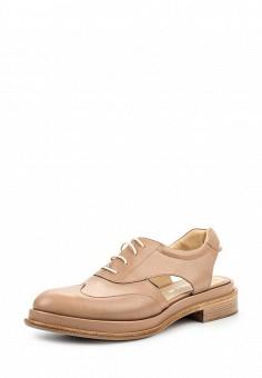 Туфли, Nando Muzi, цвет: бежевый. Артикул: NA008AWOZF31. Премиум / Обувь / Сандалии