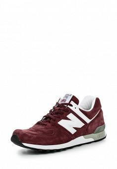 Кроссовки, New Balance, цвет: бордовый. Артикул: NE007AMNEX30. Мужская обувь