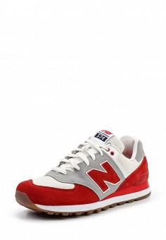 Кроссовки, New Balance, цвет: красный. Артикул: NE007AMPDJ27. Мужская обувь