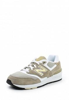 Кроссовки, New Balance, цвет: бежевый. Артикул: NE007AMPDJ73. Мужская обувь
