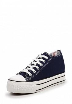 Кеды, Niweile, цвет: синий. Артикул: NI018AWQQA33. Женская обувь / Кроссовки и кеды