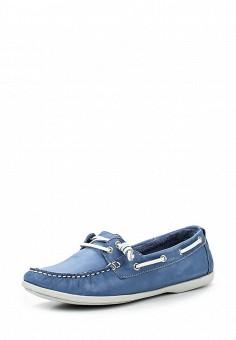 Топсайдеры, Nobrand, цвет: синий. Артикул: NO024AWRMJ44. Женская обувь / Мокасины и топсайдеры