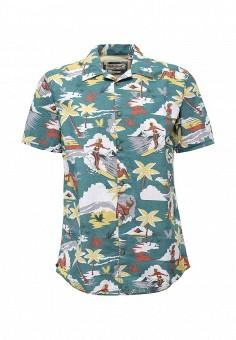 Рубашка, O`Neill, цвет: зеленый. Артикул: ON355EMQJW00. Мужская одежда / Рубашки