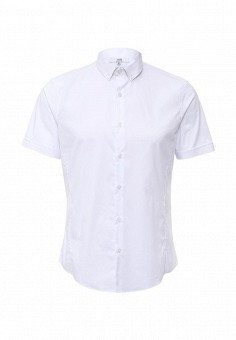 Рубашка, oodji, цвет: белый. Артикул: OO001EMHTJ92. Мужская одежда / Рубашки