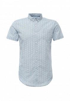 Рубашка, oodji, цвет: голубой. Артикул: OO001EMJCP82. Мужская одежда / Рубашки