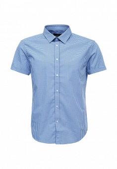 Рубашка, oodji, цвет: голубой. Артикул: OO001EMTNS29. Мужская одежда / Рубашки