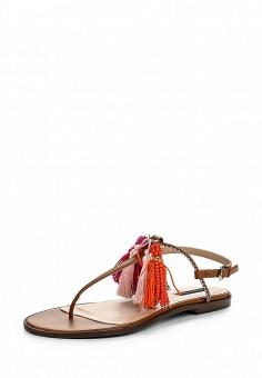 Сандалии, Patrizia Pepe, цвет: коричневый. Артикул: PA748AWPTM54. Премиум / Обувь / Сандалии