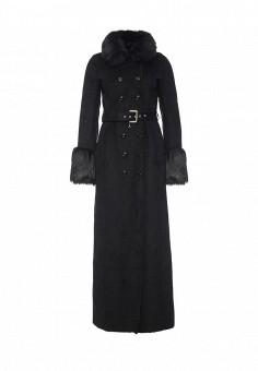 Дубленка Patrizia Pepe, цвет: черный. Артикул: PA748EWJLU87. Женская одежда