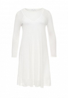 Платье, Patrizia Pepe, цвет: белый. Артикул: PA748EWPAE34. Премиум / Одежда / Платья и сарафаны