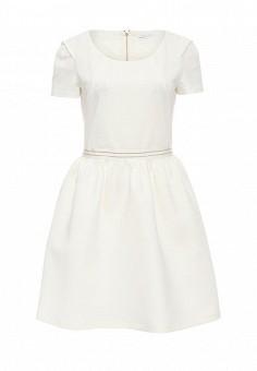 Платье, Patrizia Pepe, цвет: белый. Артикул: PA748EWPAE36. Премиум / Одежда / Платья и сарафаны