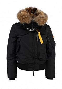 Пуховик, Parajumpers, цвет: черный. Артикул: PA997EWKB848. Женская одежда / Верхняя одежда