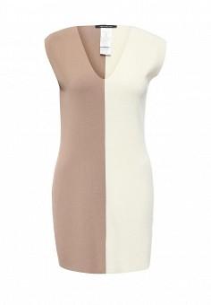 Платье, Pennyblack, цвет: бежевый. Артикул: PE003EWOHU58. Премиум / Одежда / Платья и сарафаны