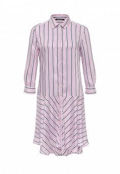 Платье, Pennyblack, цвет: розовый. Артикул: PE003EWOHU84. Премиум / Одежда / Платья и сарафаны