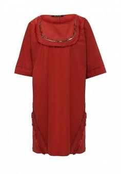 Платье, Pennyblack, цвет: красный. Артикул: PE003EWOHV10. Премиум / Одежда / Платья и сарафаны