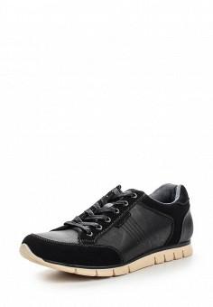 Кроссовки, Pezatti, цвет: черный. Артикул: PE023AMPQD29. Мужская обувь / Кроссовки и кеды / Кроссовки