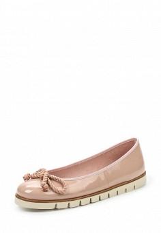 Балетки, Pretty Ballerinas, цвет: розовый. Артикул: PR758AWRHD36. Премиум / Обувь / Балетки