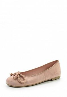 Балетки, Pretty Ballerinas, цвет: розовый. Артикул: PR758AWRHD40. Премиум / Обувь / Балетки